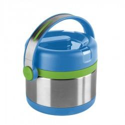 Mobility Kids, Portavivande termico 0,35 lt. Blu/verde - Emsa
