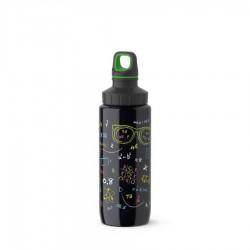 Drink2go, Bottiglia light steel Adult 0,6 lt. Nerds - Emsa