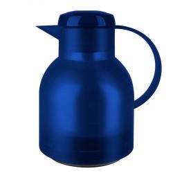 Samba, Caraffa termica quicktip 1 lt. blu trasparente - Emsa