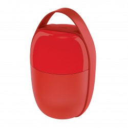 Food A Porter, Lunch Pot Rosso - Alessi