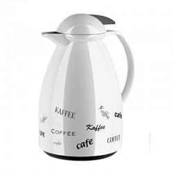 Tango, Caraffa termica quick tip 1 lt. bianco/tea - Emsa