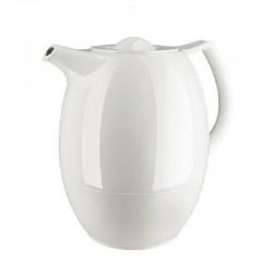 Ellipse, Ellipse tea vacuum jug, twist off, 1.0 l/33.8 fl.Oz., White - Emsa