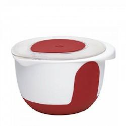 Mix & Bake, Ciot. Misc. Coper. 3 lt. bianco/rosso - Emsa