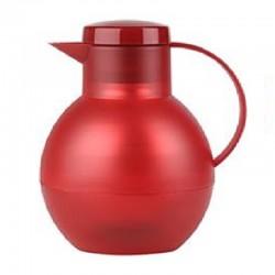 Solera, Caraffa termica chiusura vite 1 lt. rosso trasparente - Emsa