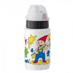 Drink2go, Bottiglia light steel Kids 0,4 lt. Little painter - Emsa