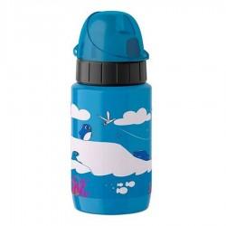 Drink2go, Bottiglia light steel Kids 0,4 lt. Penguin - Emsa
