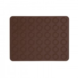 Tappetino Macarons Cm. 38x30 in silicone - Pavoni