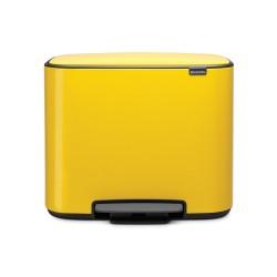 Bo Pedal Bin, 36L, Daisy Yellow - Brabantia