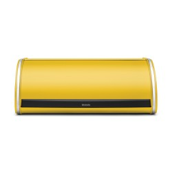 Roll Top Bread Bin, Daisy Yellow - Brabantia