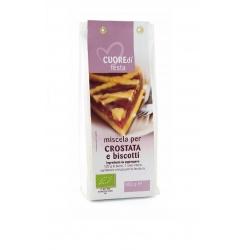 Miscela per crostata e biscotti bio - Cuoredi