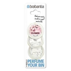 Perfume Your Bin - 3 Ricariche profumazione Flower, Rosa - Brabantia