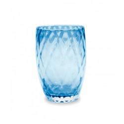 Losanghe, Bicchiere acquamarina - Zafferano