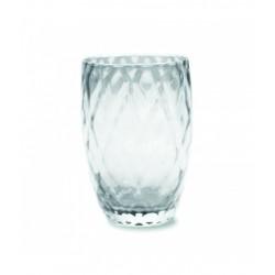 Losanghe, Bicchiere trasparente - Zafferano