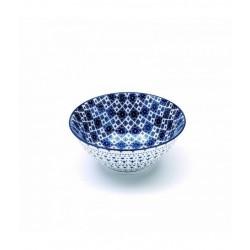Rhapsody in blue, Small Bowl quadratini d. 125 - Zafferano