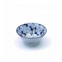 Rhapsody in blue, Small Bowl tulipani d. 125 - Zafferano