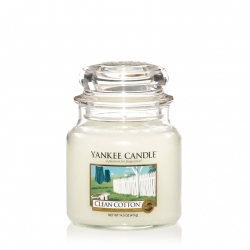 Clean Cotton Giara Media - Yankee Candle
