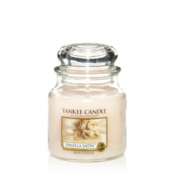 Vanilla Satin Giara Media - Yankee Candle