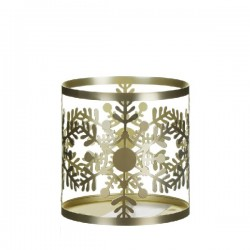 Porta Giara Snowflake Frost Jar Sleeve - Yankee Candle