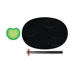 Lily Pond, Set per sushi - Alessi