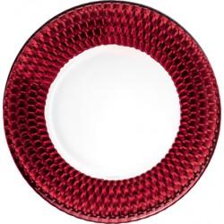 Boston coloured Piatto segnaposto red - Villeroy & Boch