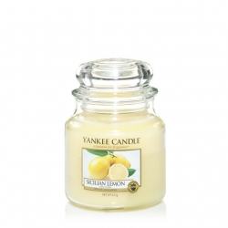Sicilian Lemon Giara Media - Yankee Candle