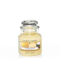 Sicilian Lemon Giara Piccola - Yankee Candle