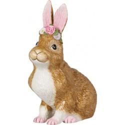 Easter Bunnies Coniglietto grande sed fiori - Villeroy & Boch