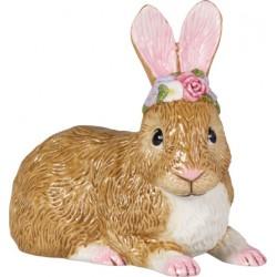 Easter Bunnies Coniglietto grande steso fiori - Villeroy & Boch