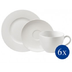 Basic White Set da caffe 18 pezzi - Villeroy & Boch