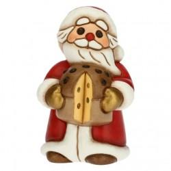 Babbo Natale con panettone medio - Thun