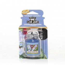 Garden Sweet Pea, Car Jar Ultimate - Yankee Candle