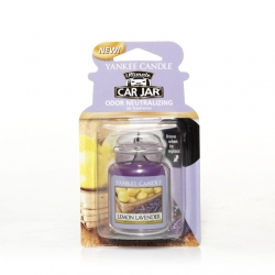 Lemon Lavender, Car Jar Ultimate - Yankee Candle