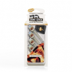 French Vanilla Car Vent Sticks - Yankee Candle