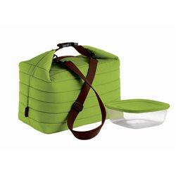 Borsa termica grande+contenitore handy verde mela - Guzzini