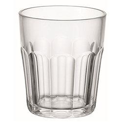Bicchiere molato basso (san) 'happy hour' trasparente - Guzzini