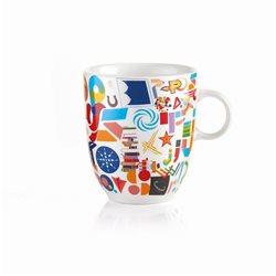 Mug alphabet multicolor - Guzzini