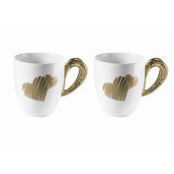 Set 2 mug love sabbia - Guzzini