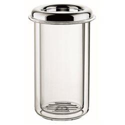 Porta bottiglia termico 'look' cromato - Guzzini