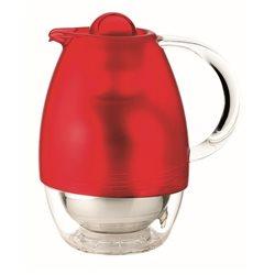 Caraffa termica 'feeling' rosso trasparente - Guzzini