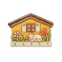 App.chiavi casetta con gatto - Thun