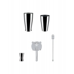 Set shaker boston inox - Alessi