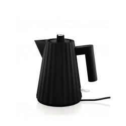 Plissè, Bollitore elettrico nero Lt.1 - Alessi
