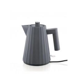 Plissè, Bollitore elettrico grigio Lt.1 - Alessi