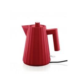 Plissè, Bollitore elettrico rosso Lt.1 - Alessi