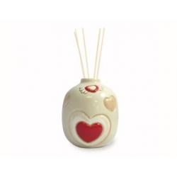 Minidiffusore in ceramica cuore neutro - Thun