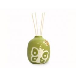 Minidiffusore in ceramica farfalla verde - Thun