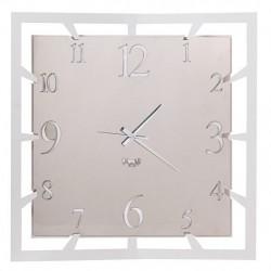 Orologio Soqquadro, Bianco marmo - Arti e Mestieri
