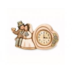 Orologio da tavolo sposini + sveglia - Thun