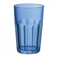 Bicchiere molato alto (San) 'Happy Hour' blu mediterraneo - Guzzini