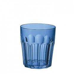 Bicchiere molato piccolo (San) 'Happy Hour' blu mediterraneo - Guzzini
